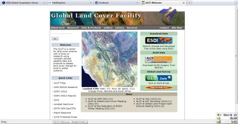 GLCF main page